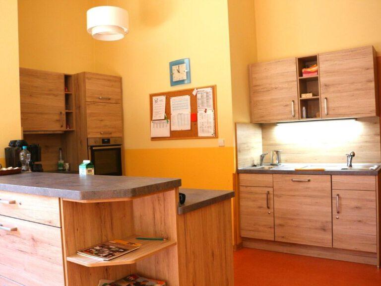 Küche im Aufenthaltsraum